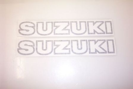 1978 Suzuki RM 125 250 400 Tank Decal Kit