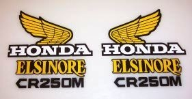1973-1975 Honda CR 250 Tank & Side Panel Decal Kit