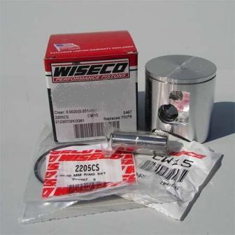 74/75 YZ 80, 80-82 MX 80, 74/75 TY 80, 73-75 GT1 Yamaha Wiseco Piston Kit