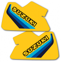 1982 Suzuki RM 465 Tank Decals Full Cover