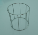 New Reproduction Stainless Steel Air Filter Cage that fits the 1968-1979 Maico