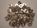 "Round Spacer Washer Aluminum 1/4"" ID x 3/4"" OD x 1/4"" Thick"