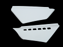 1983 KTM 420 495 Side Panels White