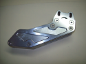 New Reproduction Billet Alloy Chain Guide Silver that fits the 1972-1981 Maico 250 400 440 490