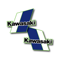 1982 Kawasaki KX 125 250 Tank Decals Die Cut Perforated