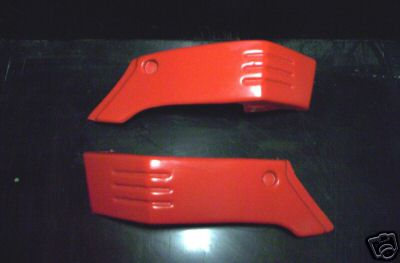 1987/1988 Yamaha BW 350 Air Scoops Red