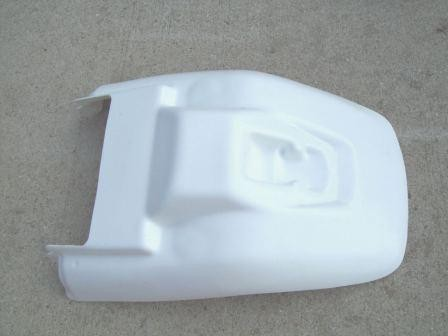 1985-1988 Yamaha BW 200 Rear Fender White