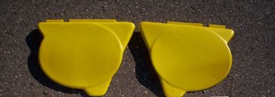 1976 Yamaha YZ 125 Side Panels