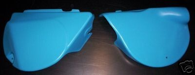 1977-1979 Yamaha IT 175 Side Panels Blue