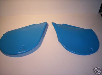 1977-1979 Yamaha IT 250 400 Side Panels Blue
