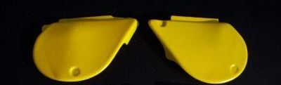 1977/1978 Yamaha YZ 250 400 Side Panels