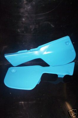 1983/1984 Yamaha IT 250 490 Side Panels Blue