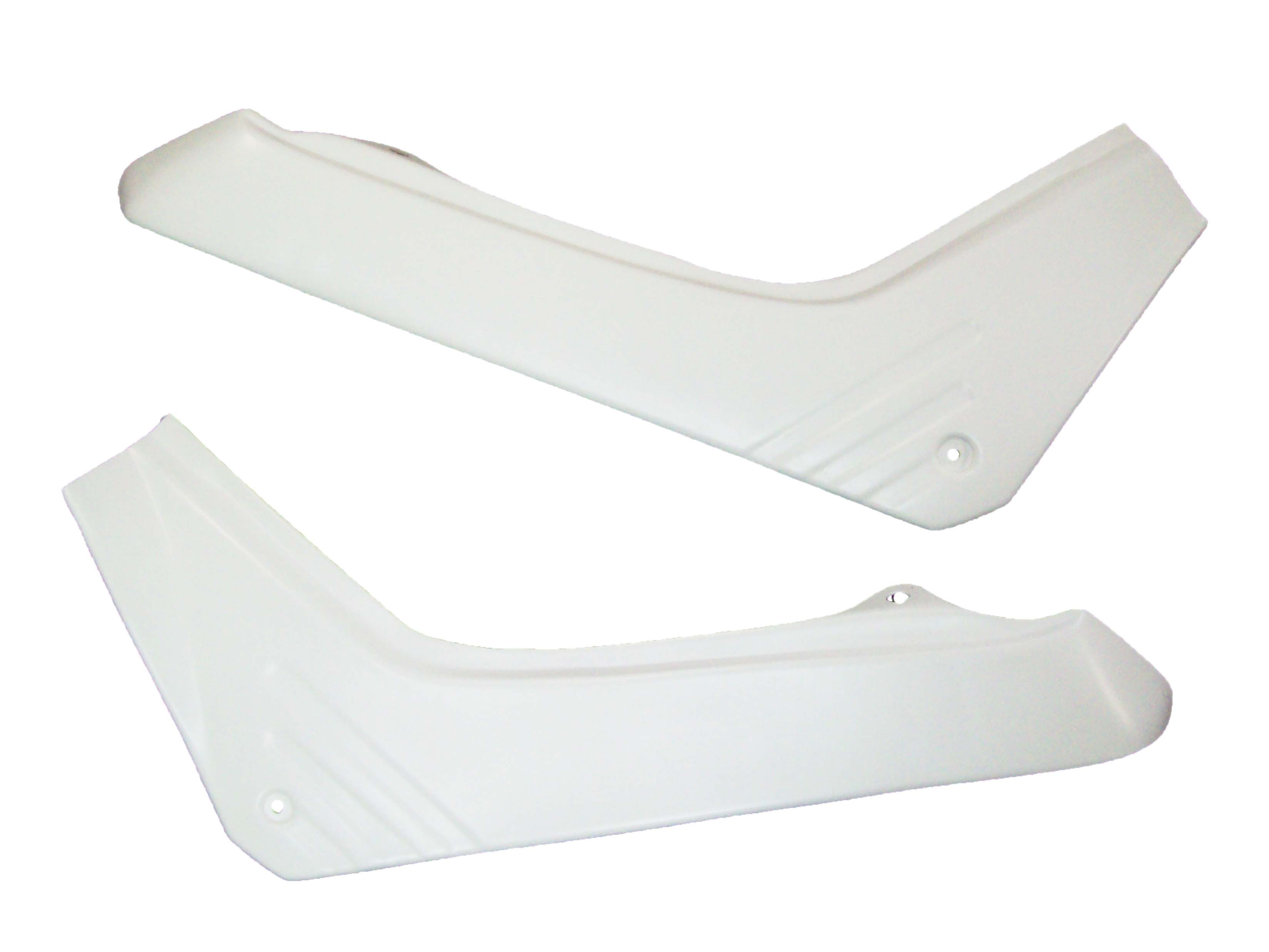 1986/1987 Honda TR 200 Fat Cat Side Panels White