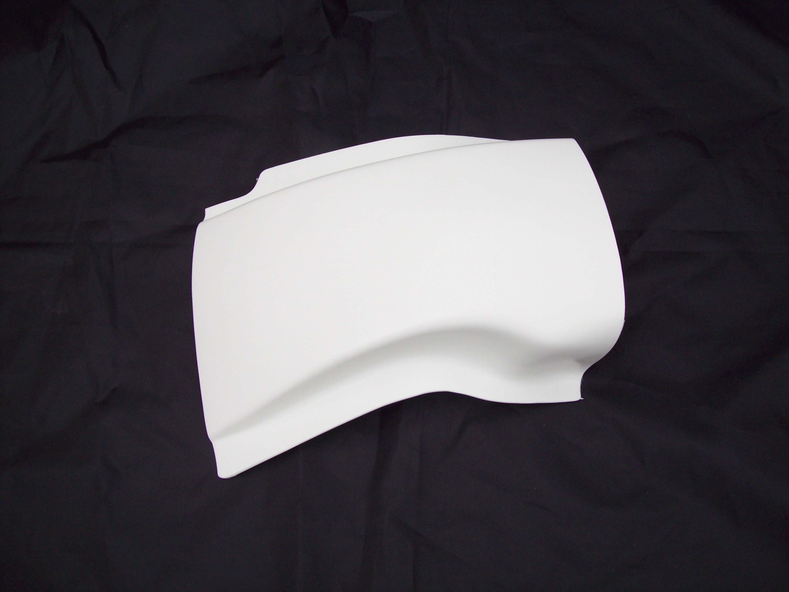 1987-1993 KTM MXC GS Enduro Inner Rear Fender White